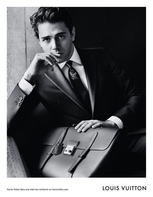 Xavier Dolan : nouvelle égérie Louis Vuitton