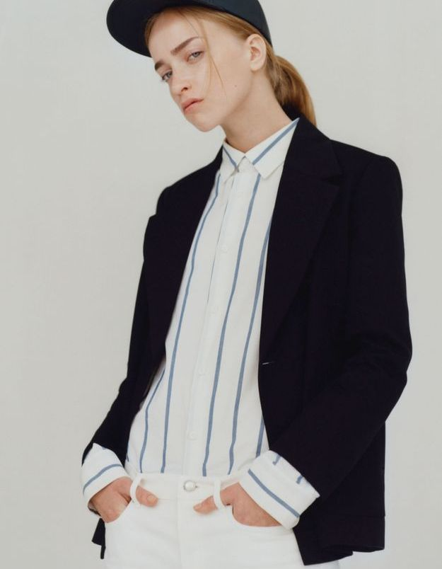 Look book A.P.C printemps-été 2016 look1