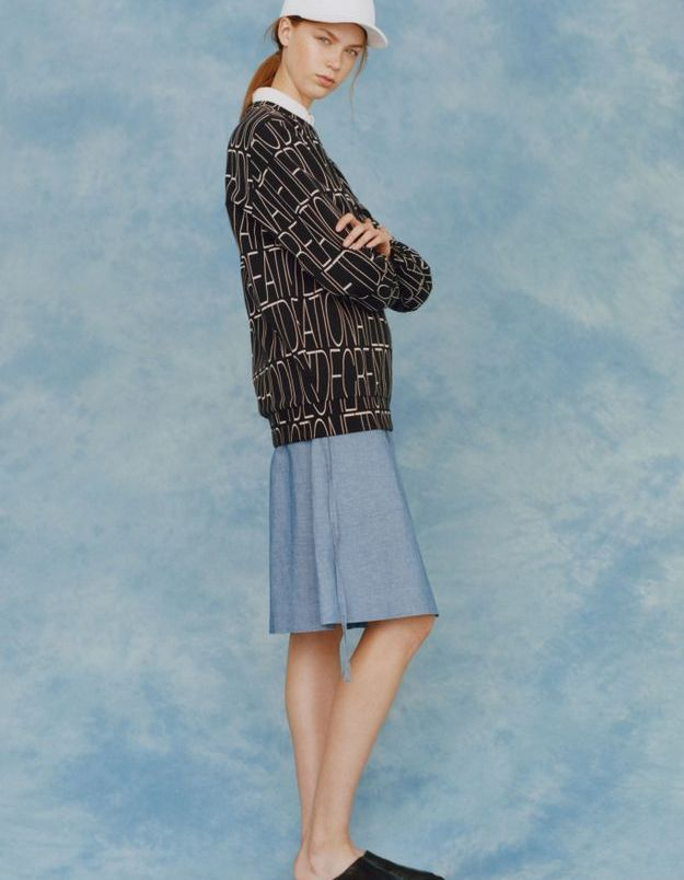 Look book A.P.C printemps-été 2016 look12