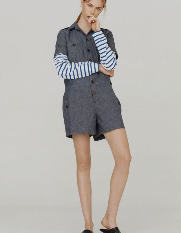 Look book A.P.C printemps-été 2016 look19