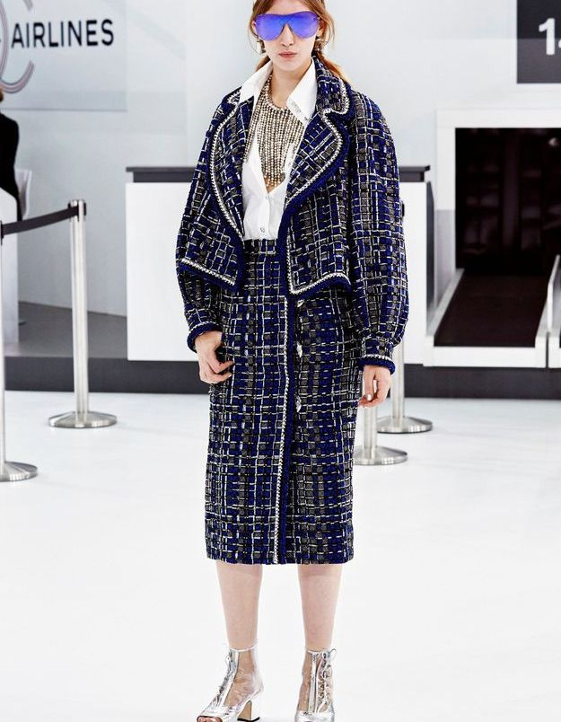 Look book Chanel printemps-été 2016 Look 16