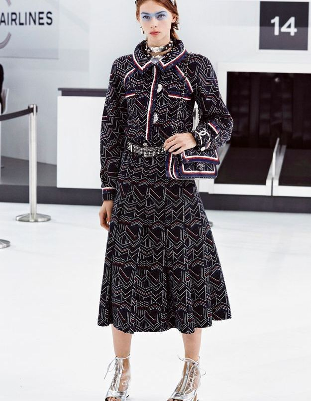 Look book Chanel printemps-été 2016 Look 3
