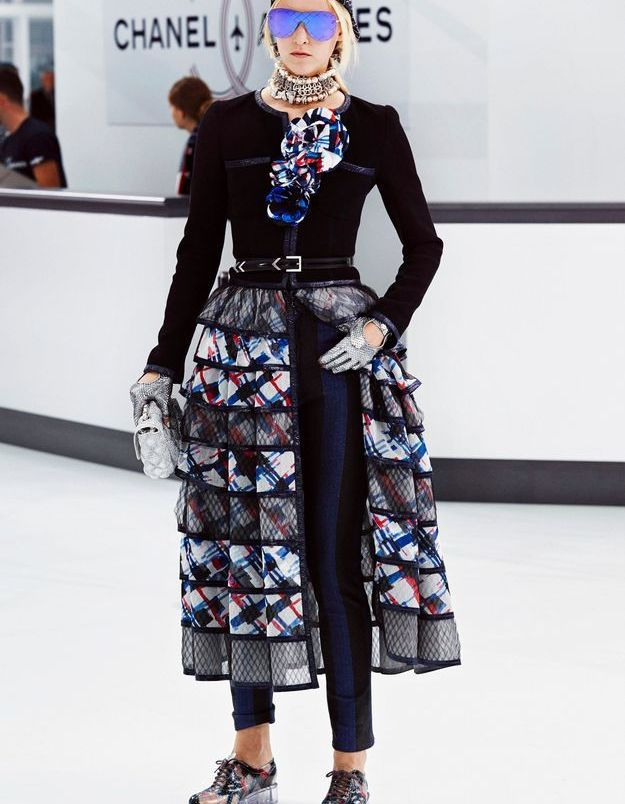 Look book Chanel printemps-été 2016 Look 30