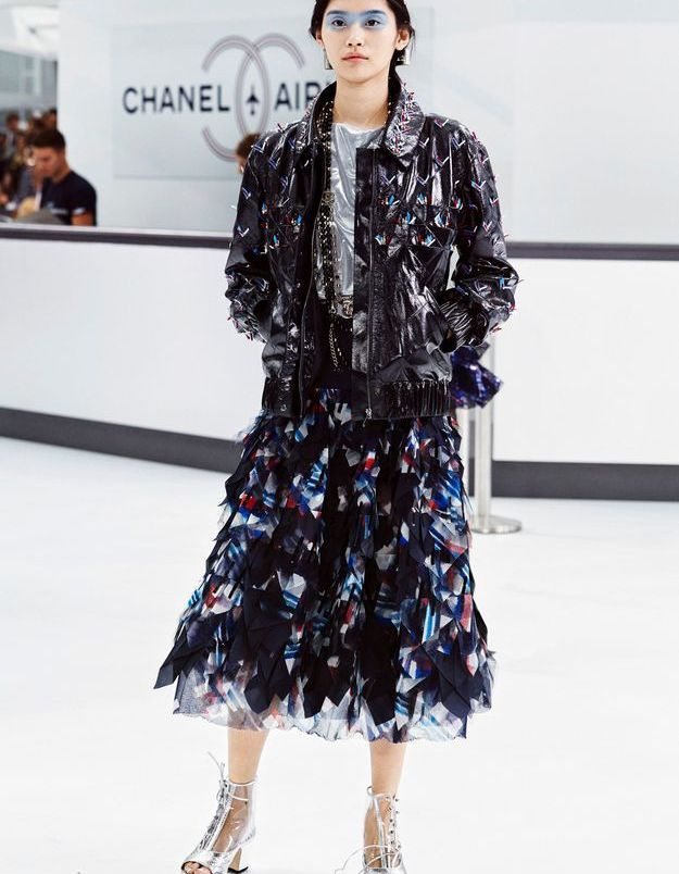 Look book Chanel printemps-été 2016 Look 31