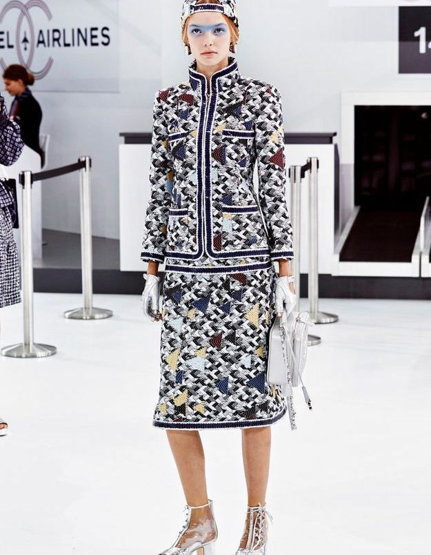 Look book Chanel printemps-été 2016 Look 7