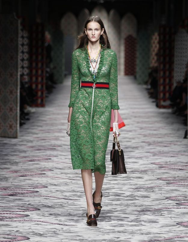 Look book Gucci printemps-été 2016 look1
