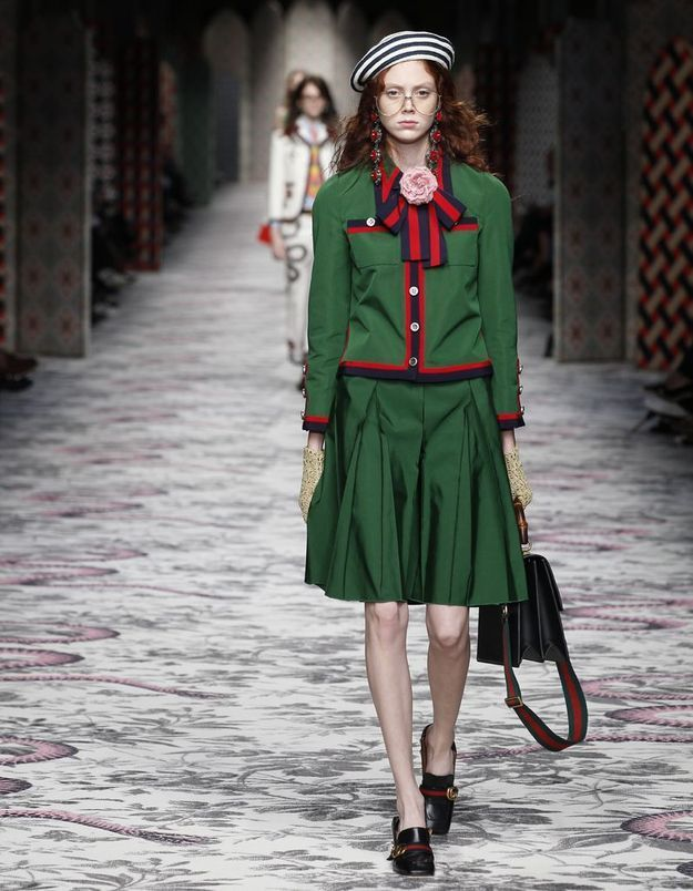 Look book Gucci printemps-été 2016 look11