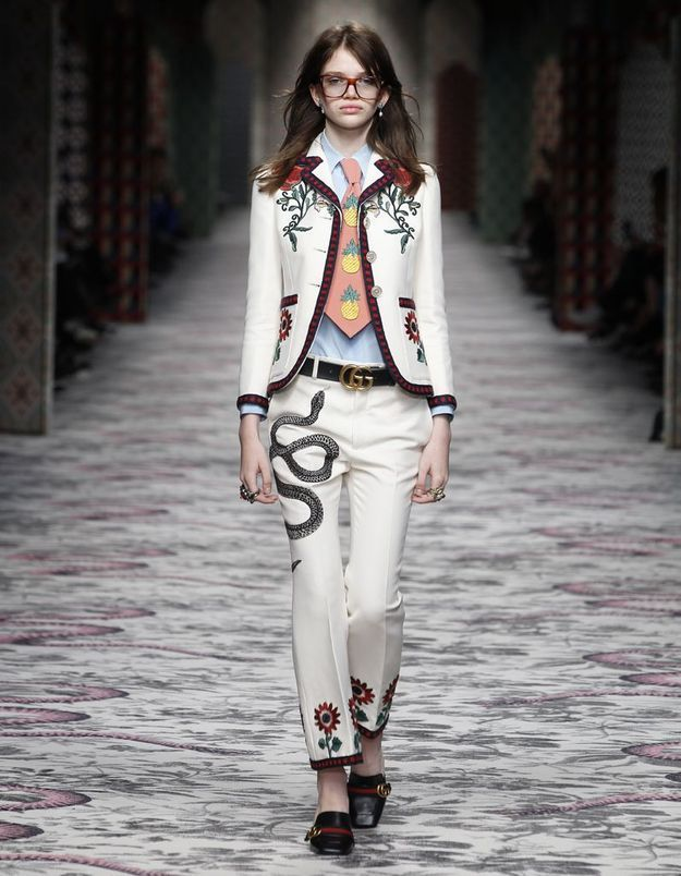 Look book Gucci printemps-été 2016 look12