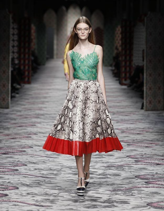 Look book Gucci printemps-été 2016 look13