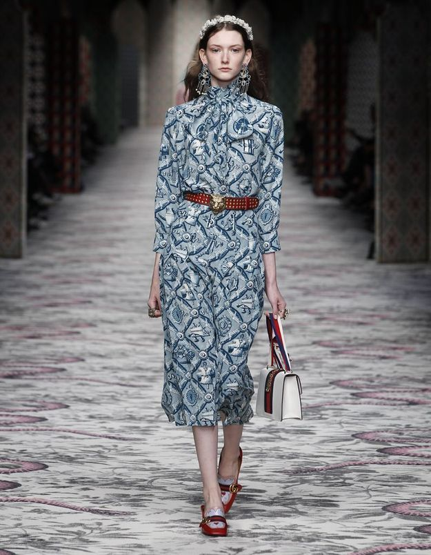 Look book Gucci printemps-été 2016 look15