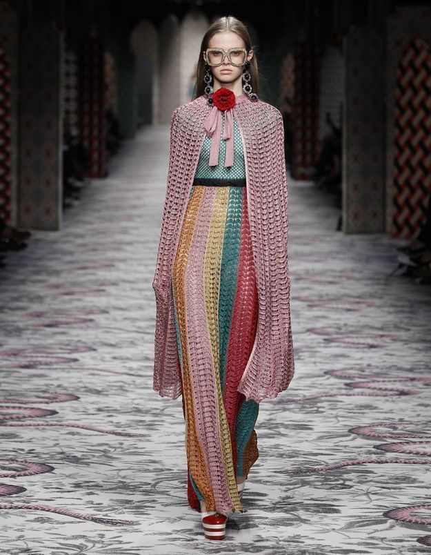 Look book Gucci printemps-été 2016 look16