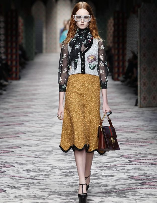 Look book Gucci printemps-été 2016 look17