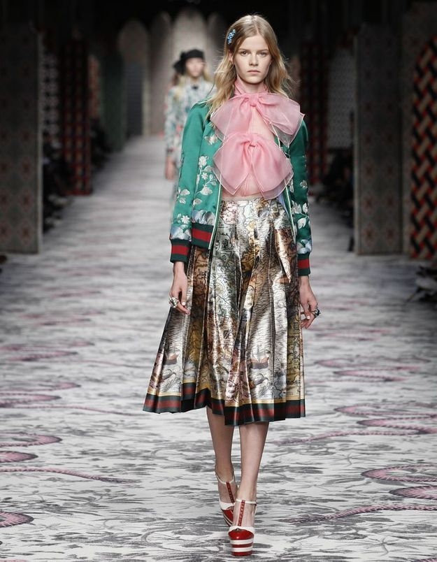 Look book Gucci printemps-été 2016 look21