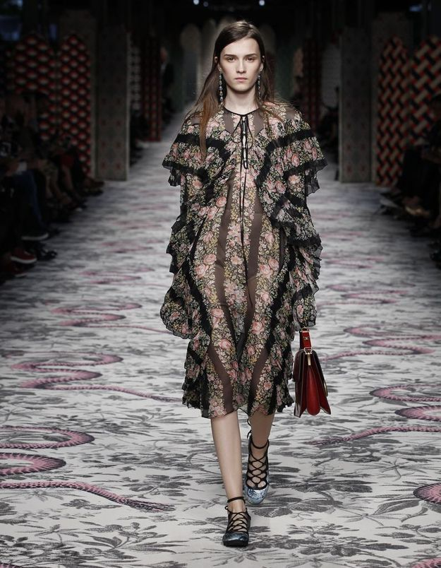 Look book Gucci printemps-été 2016 look3