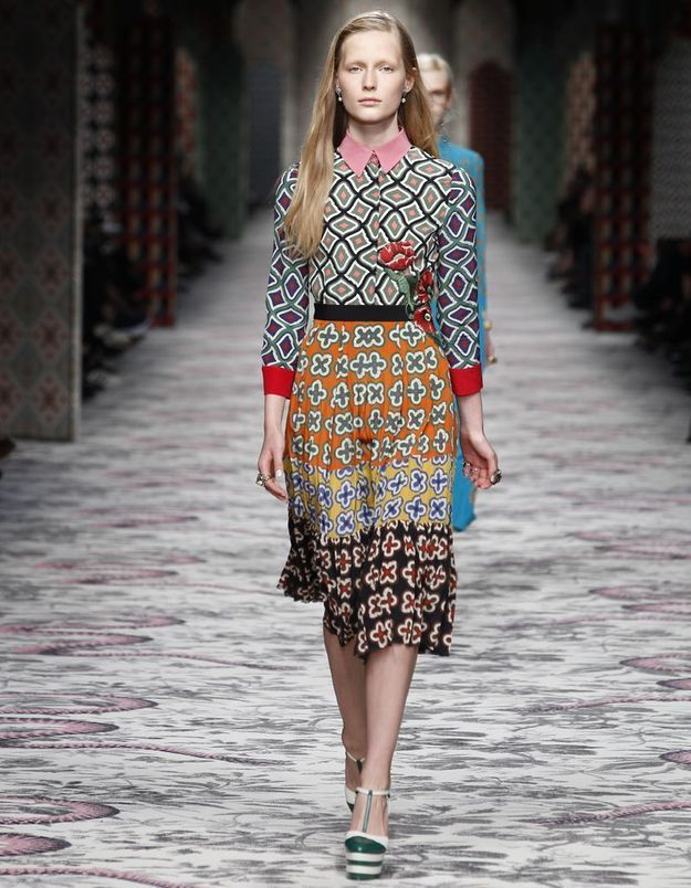 Look book Gucci printemps-été 2016 look34