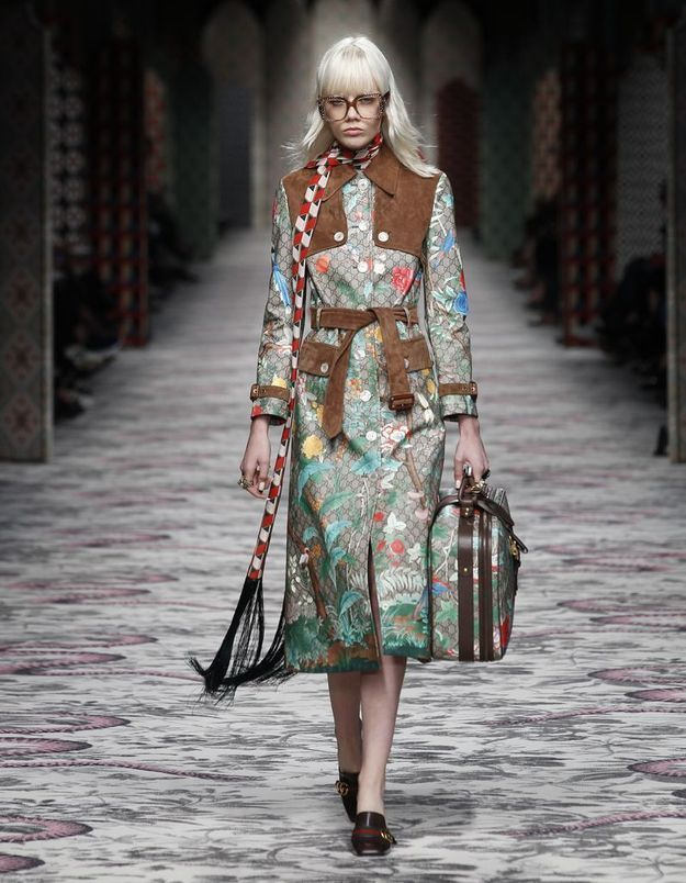 Look book Gucci printemps-été 2016 look46
