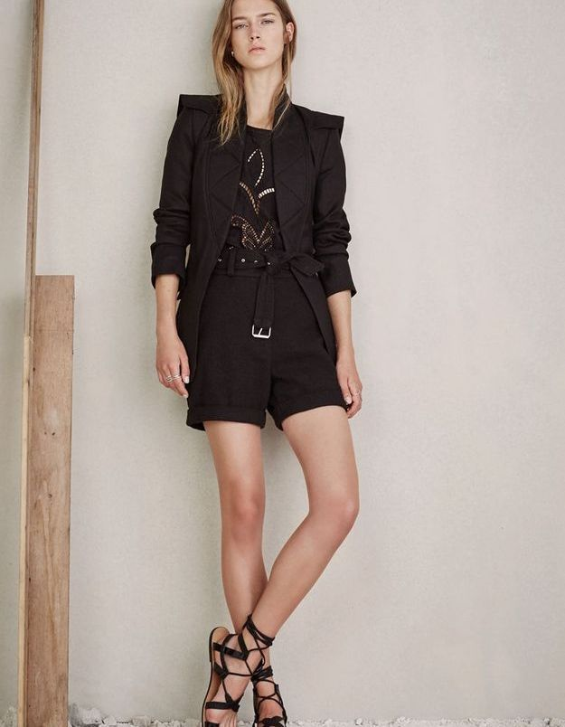 Look book Iro printemps-été 2016 look21
