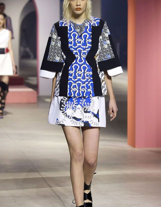 Look book Kenzo printemps-été 2016 look12