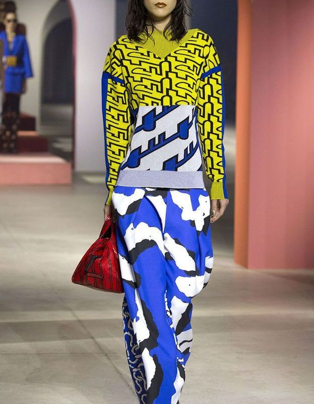 Look book Kenzo printemps-été 2016 look18