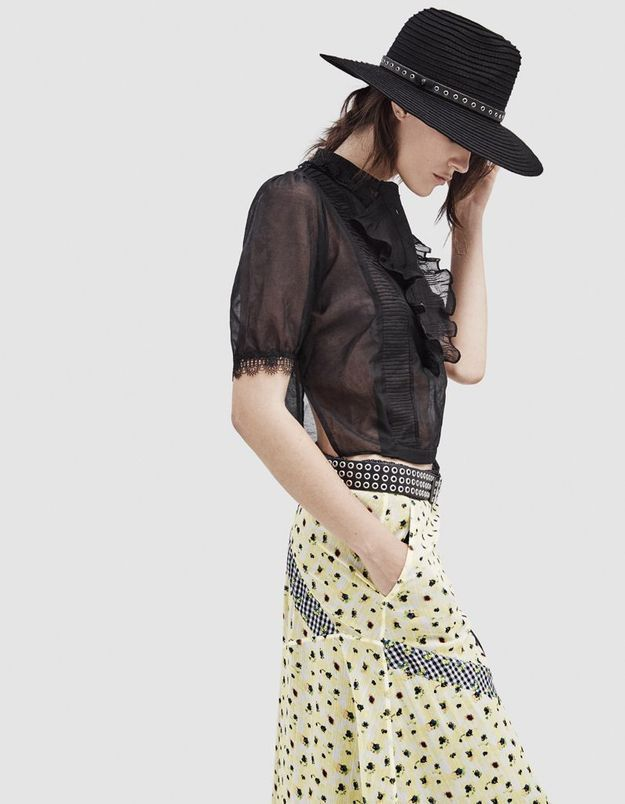 Look book The Kooples printemps-été 2016 look8