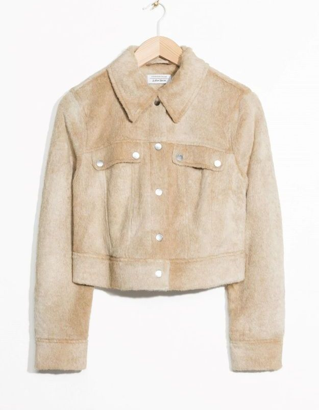 Blouson beige & Other Stories
