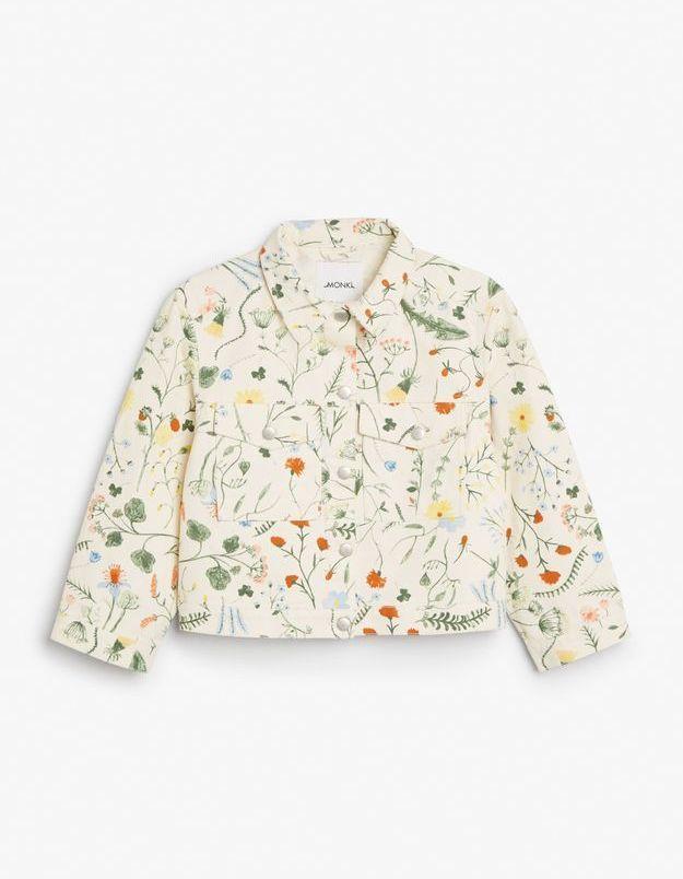 Blouson floral Monki