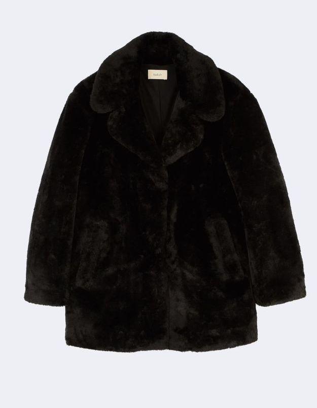 Manteau fausse fourrure Ba&sh