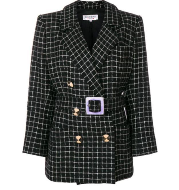 Veste en laine Yves Saint Laurent Vintage