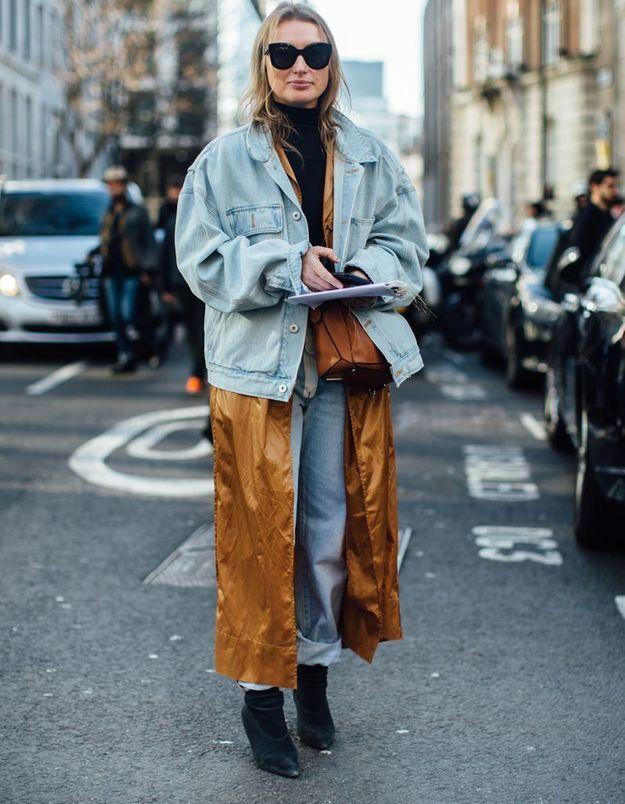 Et si on ressortait notre veste en jean ?
