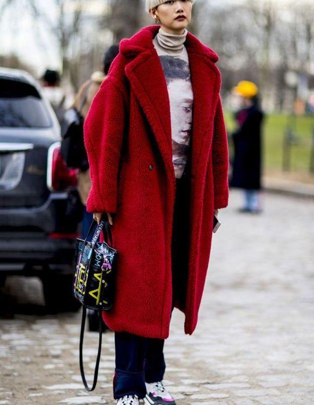 Le manteau bear mais en couleur !