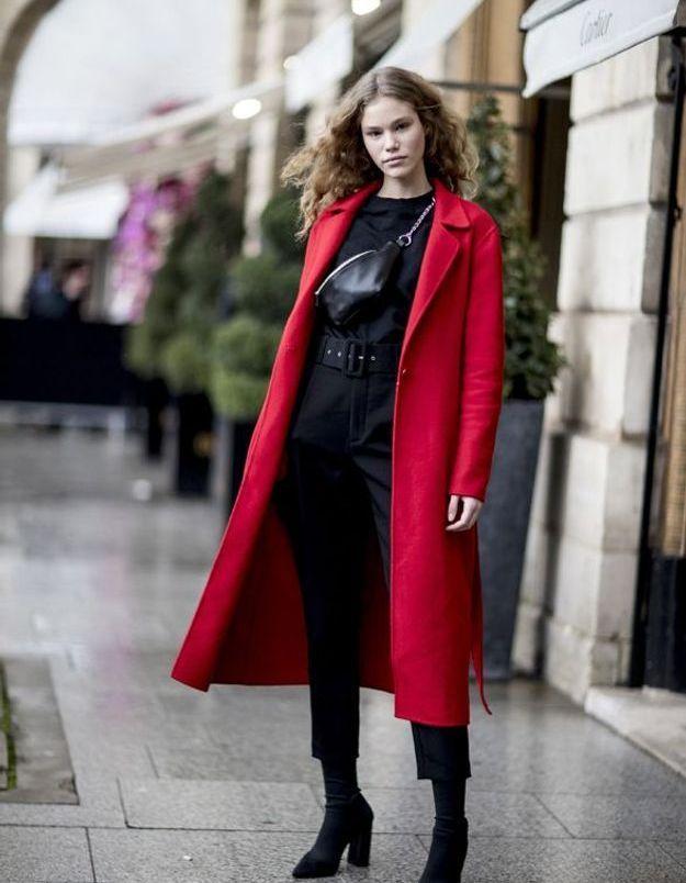 On s'offre un manteau rouge