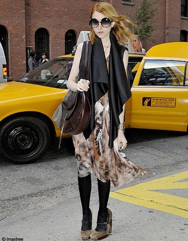 12mode defiles New York street style lunettes rondes