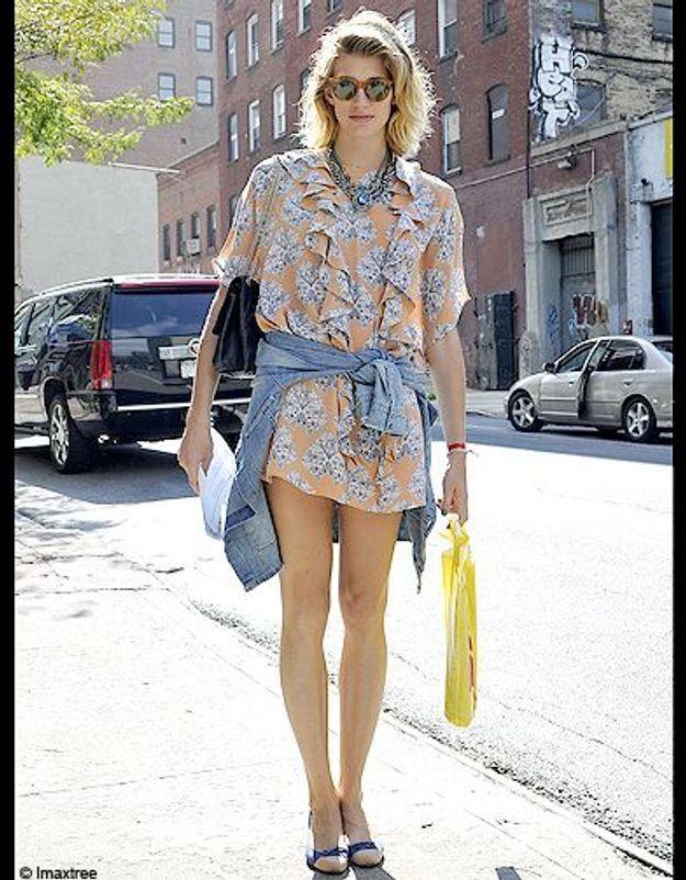Mode defiles New York street style 12
