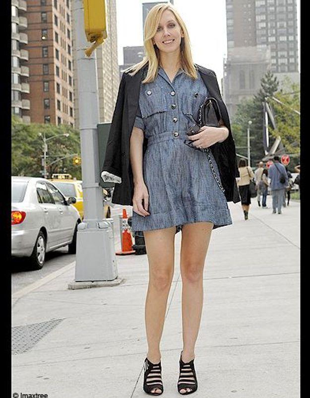 Mode defiles New York street style 3