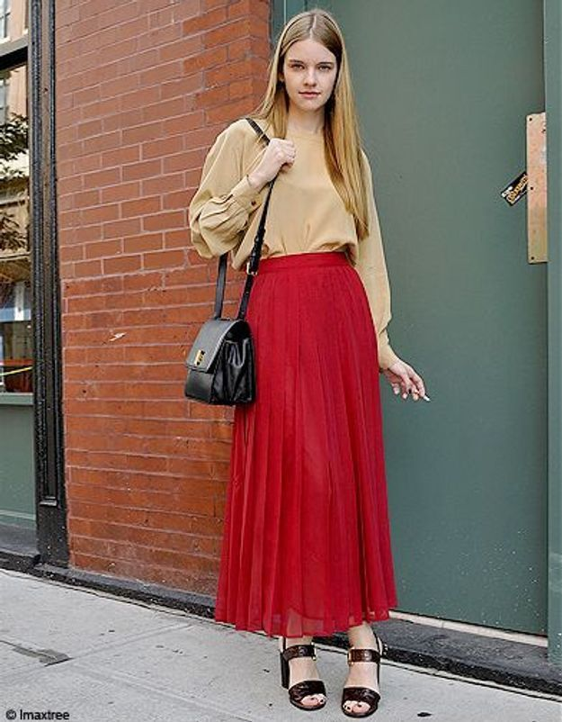 Mode defiles New York street style 6