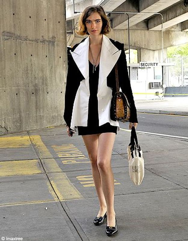 Mode defiles New York street style 7