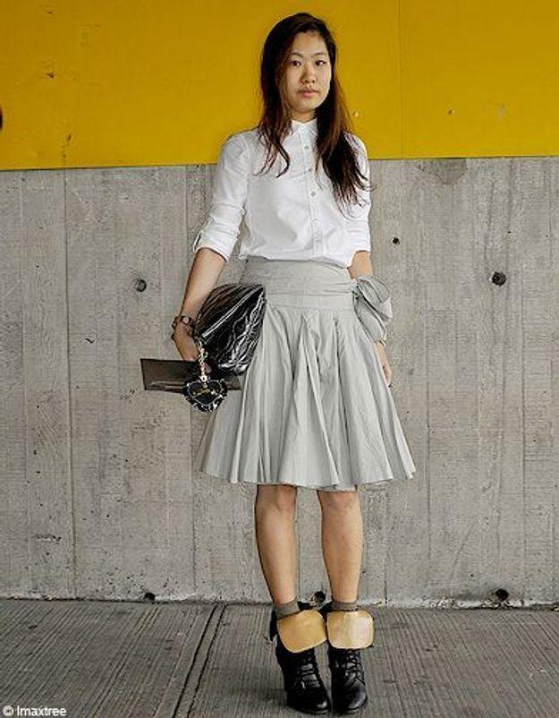 Mode defiles New York street style 9