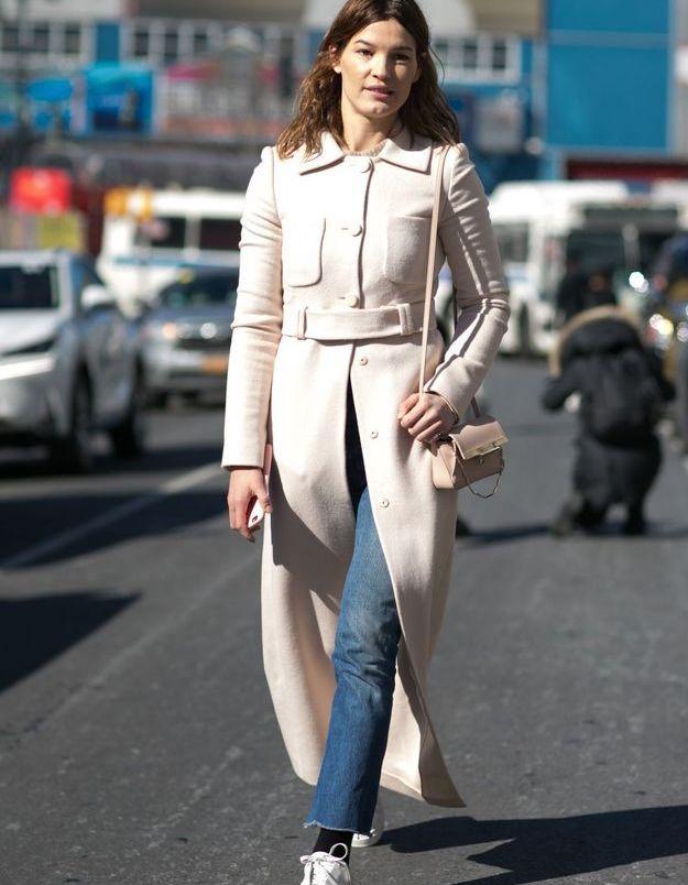 Look less is more avec un manteau long