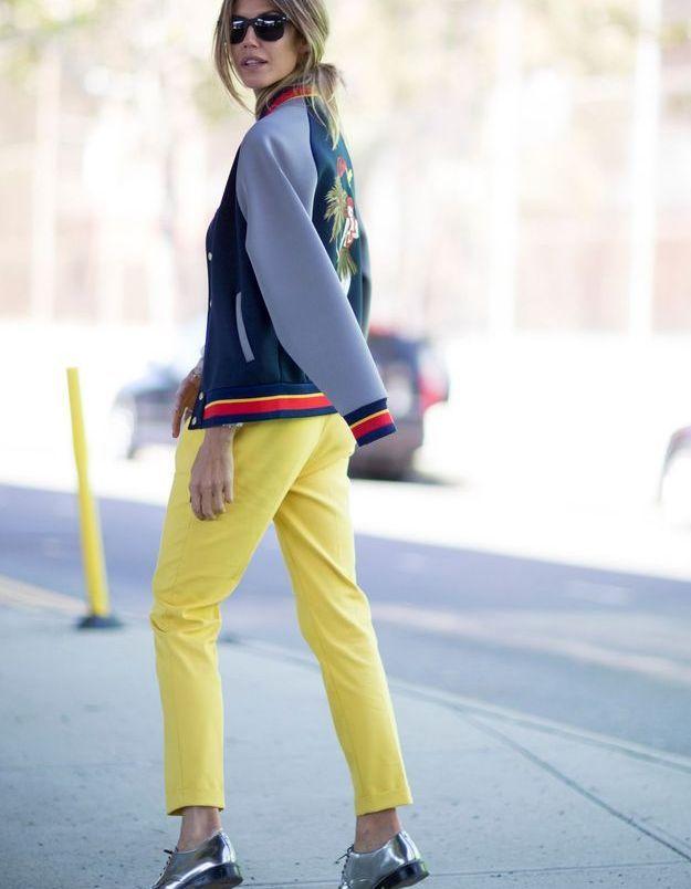 Teddy et pantalon jaune