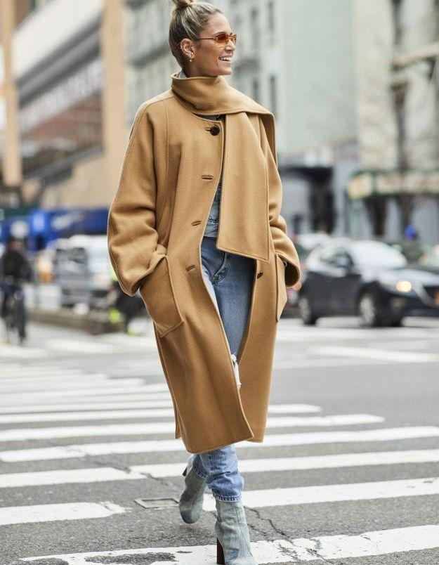 Le manteau camel, tu ressortiras