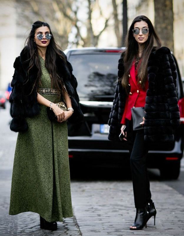 Looks d'hiver glamour