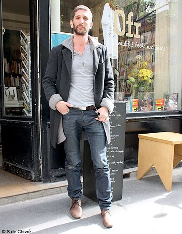 Mode tendance street style look homme Cyril