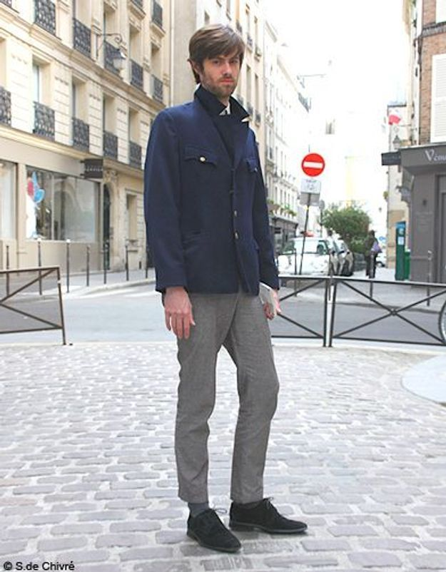 Mode tendance street style look homme Denis