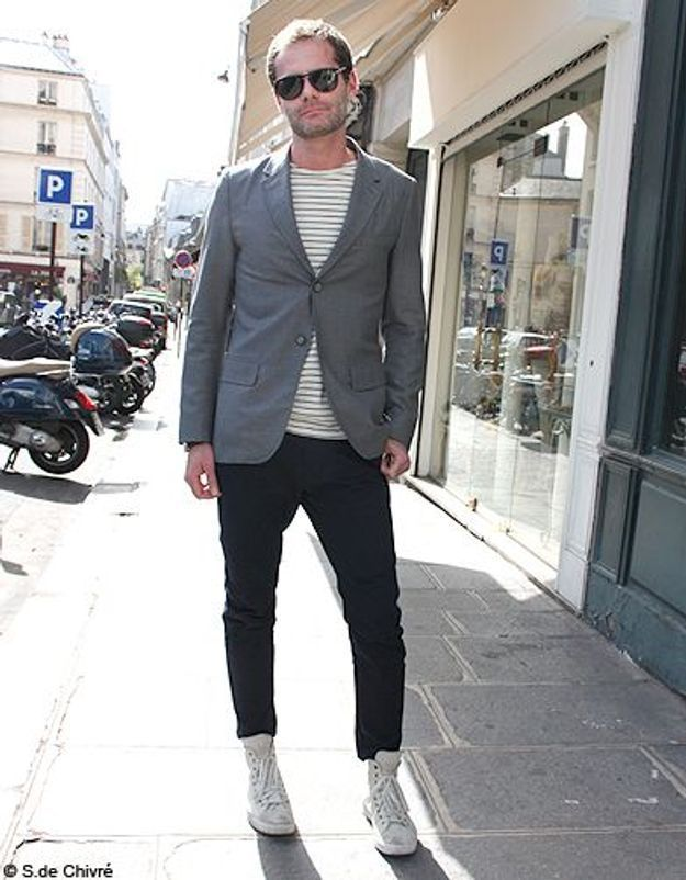 Mode tendance street style look homme Francois