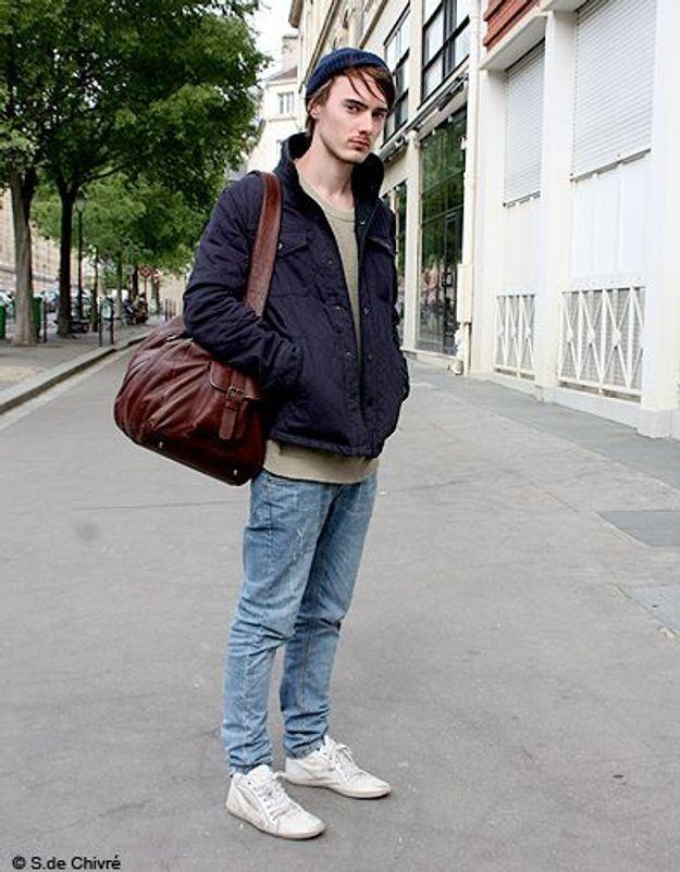 Mode tendance street style look homme james