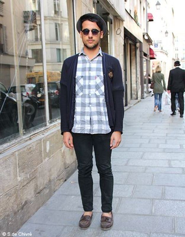 Mode tendance street style look homme Julien