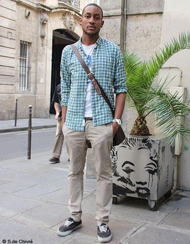 Mode tendance street style look homme Lionel