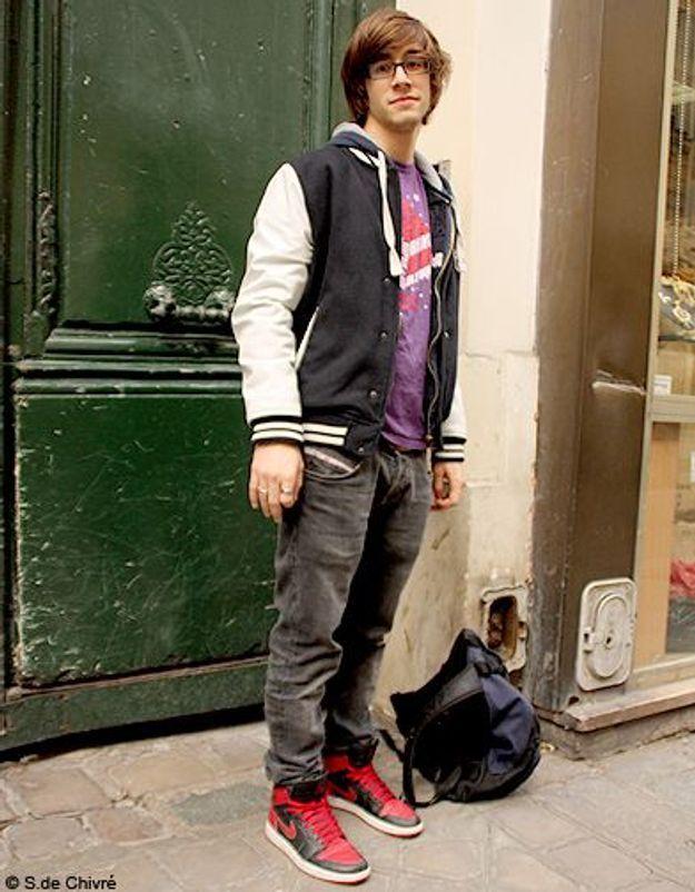 Mode tendance street style look homme Pierre