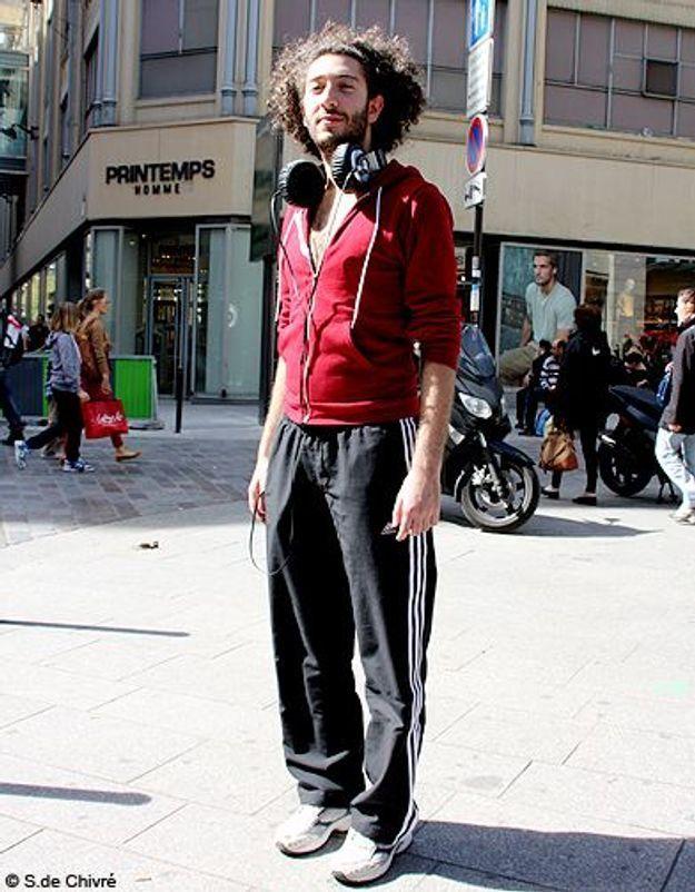 Mode tendance street style look homme Tristan