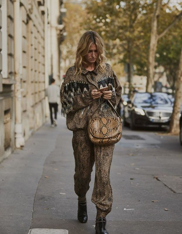 Oser le total look animalier